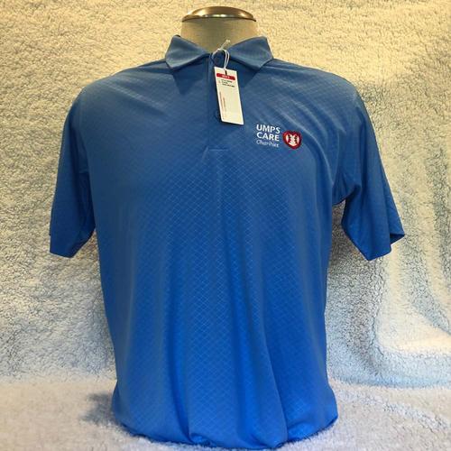 Photo of UMPS CARE AUCTION: UMPS CARE Antigua Inspire Polo Shirt, Columbia Blue, Size XL