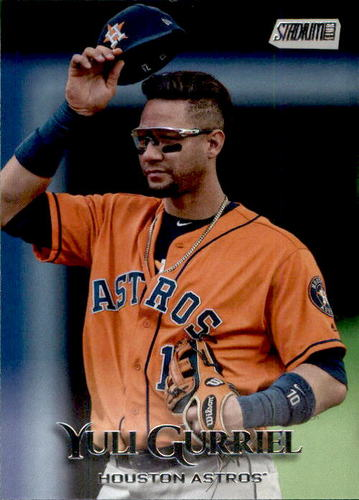 Photo of 2019 Stadium Club #122 Yuli Gurriel
