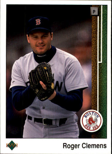 Photo of 1989 Upper Deck #195 Roger Clemens