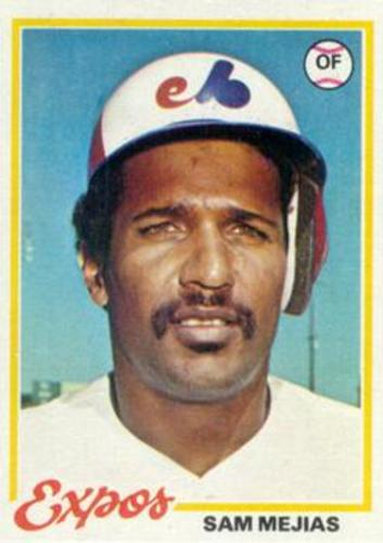 Photo of 1978 Topps #576 Sam Mejias