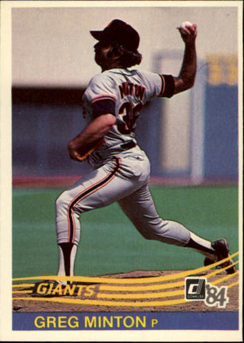 Photo of 1984 Donruss #187 Greg Minton