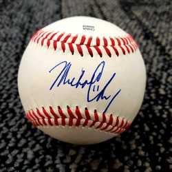 Image of Michael Chavis Signed Baseball