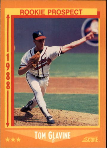 Photo of 1988 Score #638 Tom Glavine RC