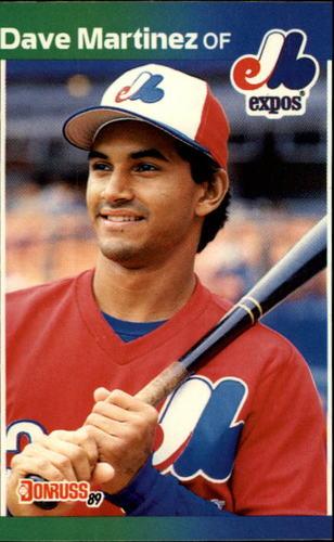 Photo of 1989 Donruss #102 Dave Martinez