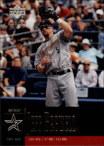 Photo of 2001 Upper Deck Evolution #41 Jeff Bagwell