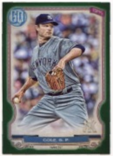 Photo of 2020 Topps Gypsy Queen Green #93 Gerrit Cole