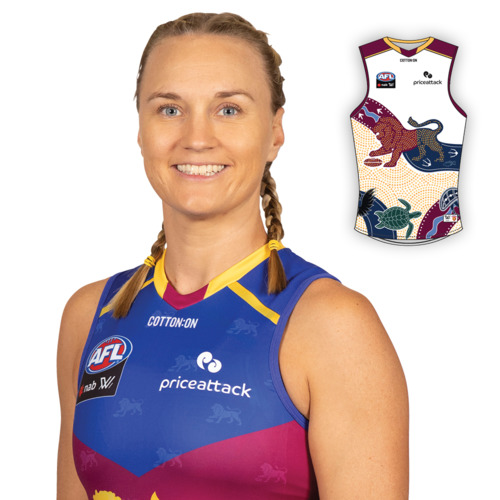 Photo of 2021 AFLW Indigenous Guernsey - Selina Priest