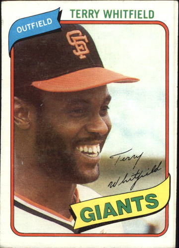 Photo of 1980 Topps #713 Terry Whitfield