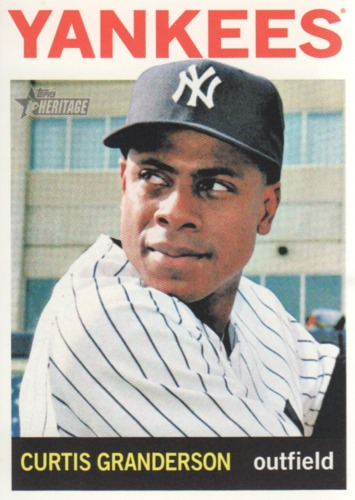 Photo of 2013 Topps Heritage #50 Curtis Granderson