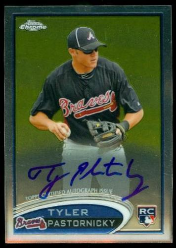 Photo of 2012 Topps Chrome Rookie Autographs #183 Tyler Pastornicky
