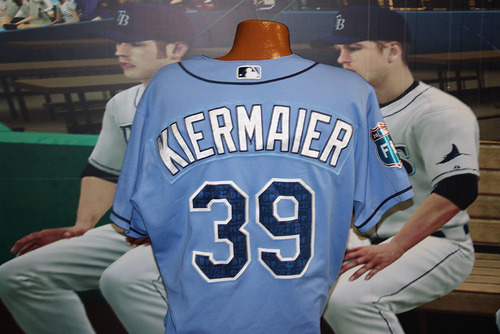meet c2818 58764 MLB Auctions | Kevin Kiermaier Game-Used Spring Training Jersey