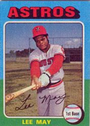 Photo of 1975 Topps #25 Lee May