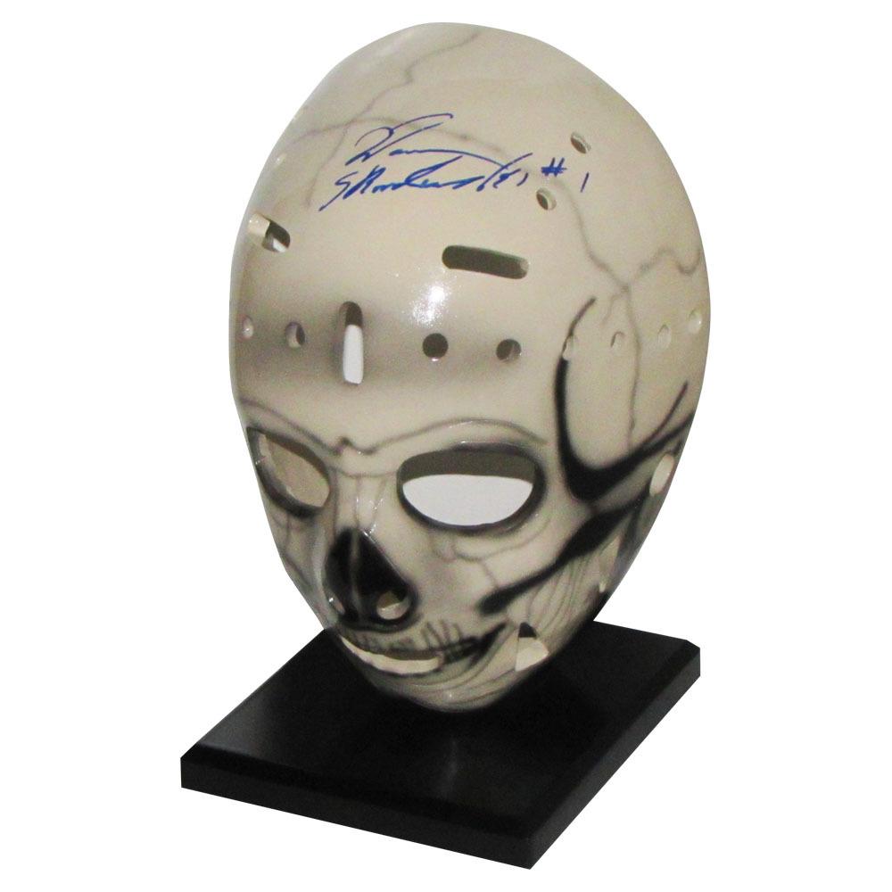 Warren Skorodenski Autographed Replica Goalie Mask