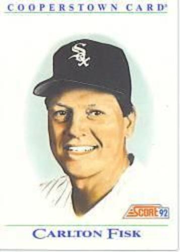 Photo of 1992 Score Factory Inserts #B8 Carlton Fisk
