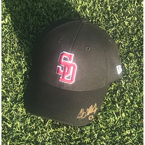 Photo of Buddy Boshers Autographed and Game-Used Stoneman Douglas Eagles Cap