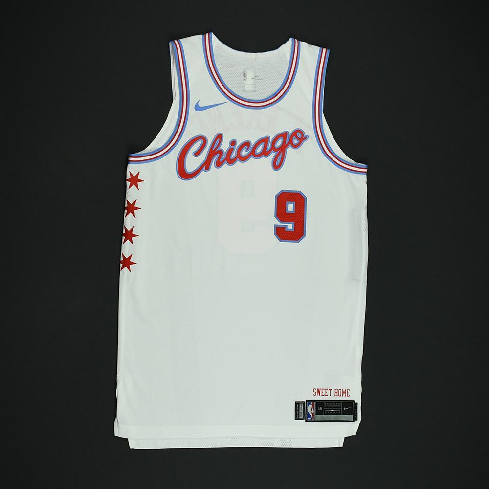 Antonio Blakeney - Chicago Bulls - Game-Issued 'City' Jersey - 2017-18 Season