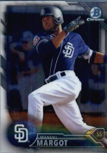 Photo of 2016 Bowman Chrome Prospects #BCP210 Manuel Margot