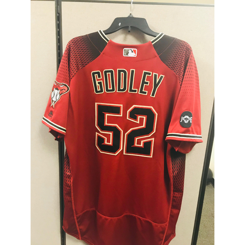 Photo of 2016 Team-Issued Zack Godley Jersey