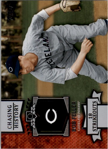 Photo of 2013 Topps Chasing History #CH147 Bob Feller