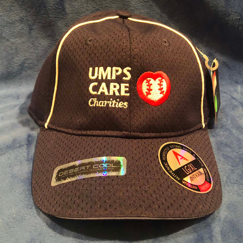 Photo of UMPS CARE AUCTION: UMPS CARE Baseball Cap, Navy Blue with White Piping, Size L/XL