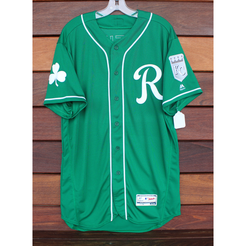 Photo of Team-Issued St. Patrick's Day Jersey: Gabe Speier (Size - 46)