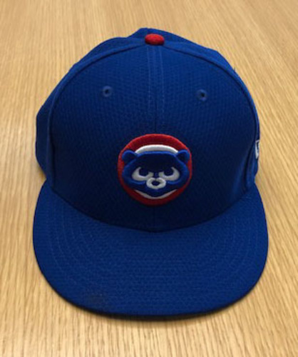 Photo of Ian Happ Team-Issued Batting Practice Hat -- Size 7 1/8