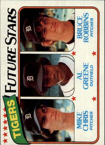 Photo of 1980 Topps #666 Mike Chris RC/Al Greene RC/Bruce Robbins RC