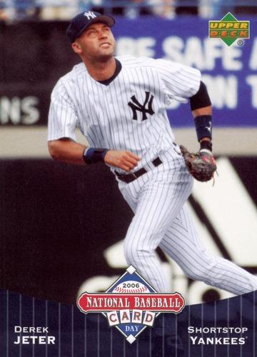 Photo of 2006 Upper Deck National Baseball Card Day #UD6 Derek Jeter