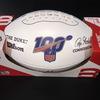 NFL - Ravens Matthew Judon Signed Panel Ball W/ 100 Seasons Logo