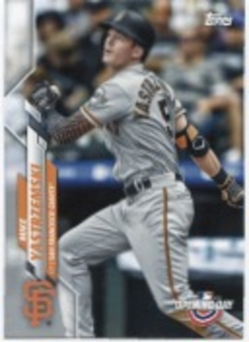 Photo of 2020 Topps Opening Day #64 Mike Yastrzemski