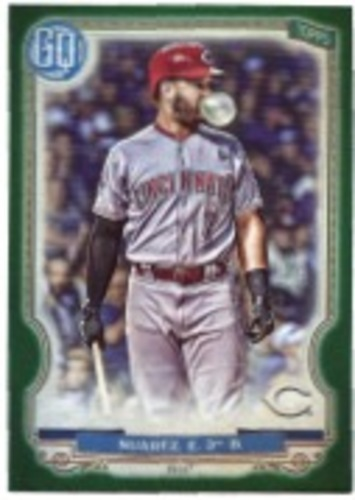 Photo of 2020 Topps Gypsy Queen Green #105 Eugenio Suarez