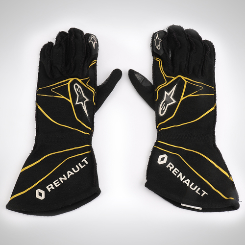 Photo of Jolyon Palmer 2016 Race-worn Race Gloves