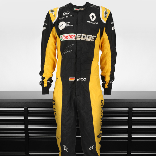 Photo of Nico Hulkenberg 2017 Signed Race Suit