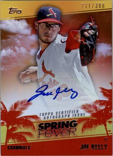 Photo of 2014 Topps Spring Fever Autographs #SFAJK Joe Kelly/300