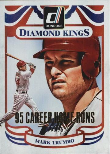Photo of 2014 Donruss Stat Line Career #214 Mark Trumbo DK/95