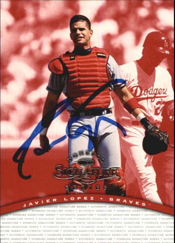 Photo of 1997 Donruss Signature Autographs #68 Javier Lopez/1400