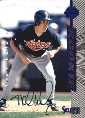 Photo of 1997 Select Rookie Autographs #4 Todd Walker/3000