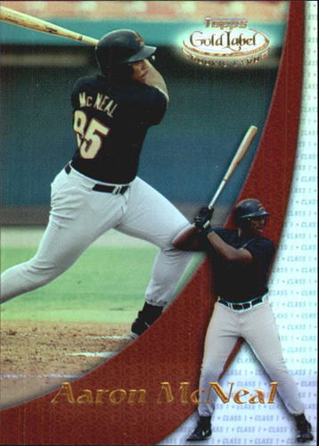 Photo of 2000 Topps Gold Label Class 1 #97 Aaron McNeal RC