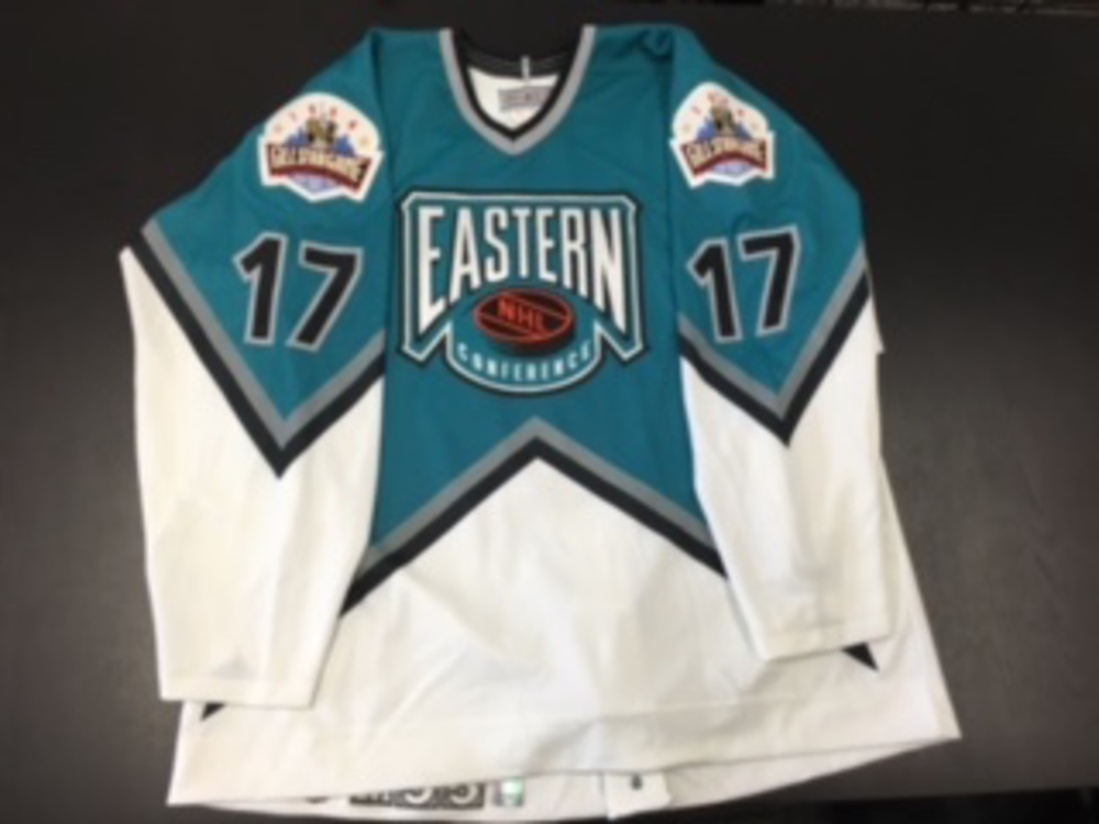 1994 signed Pierre Turgeon Eastern Conference NHL All-Star Game Jersey aeb7aeb45dd