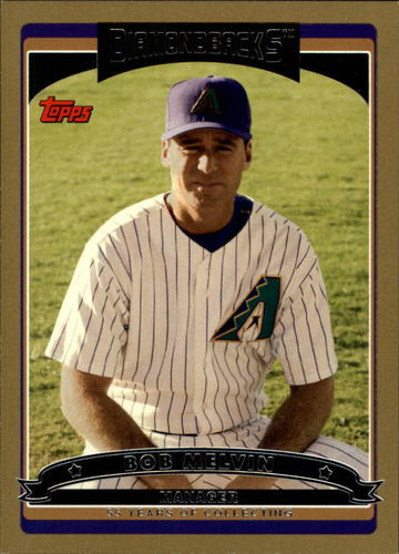 Photo of 2006 Topps Gold #266 Bob Melvin MG