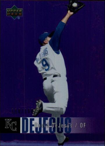Photo of 2006 Upper Deck Special F/X Purple #222 David DeJesus /150