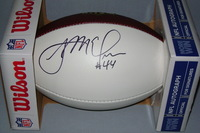 NFL - RAMS JACOB MCQUAIDE SIGNED PANEL BALL