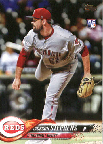 Photo of 2018 Topps #207 Jackson Stephens RC