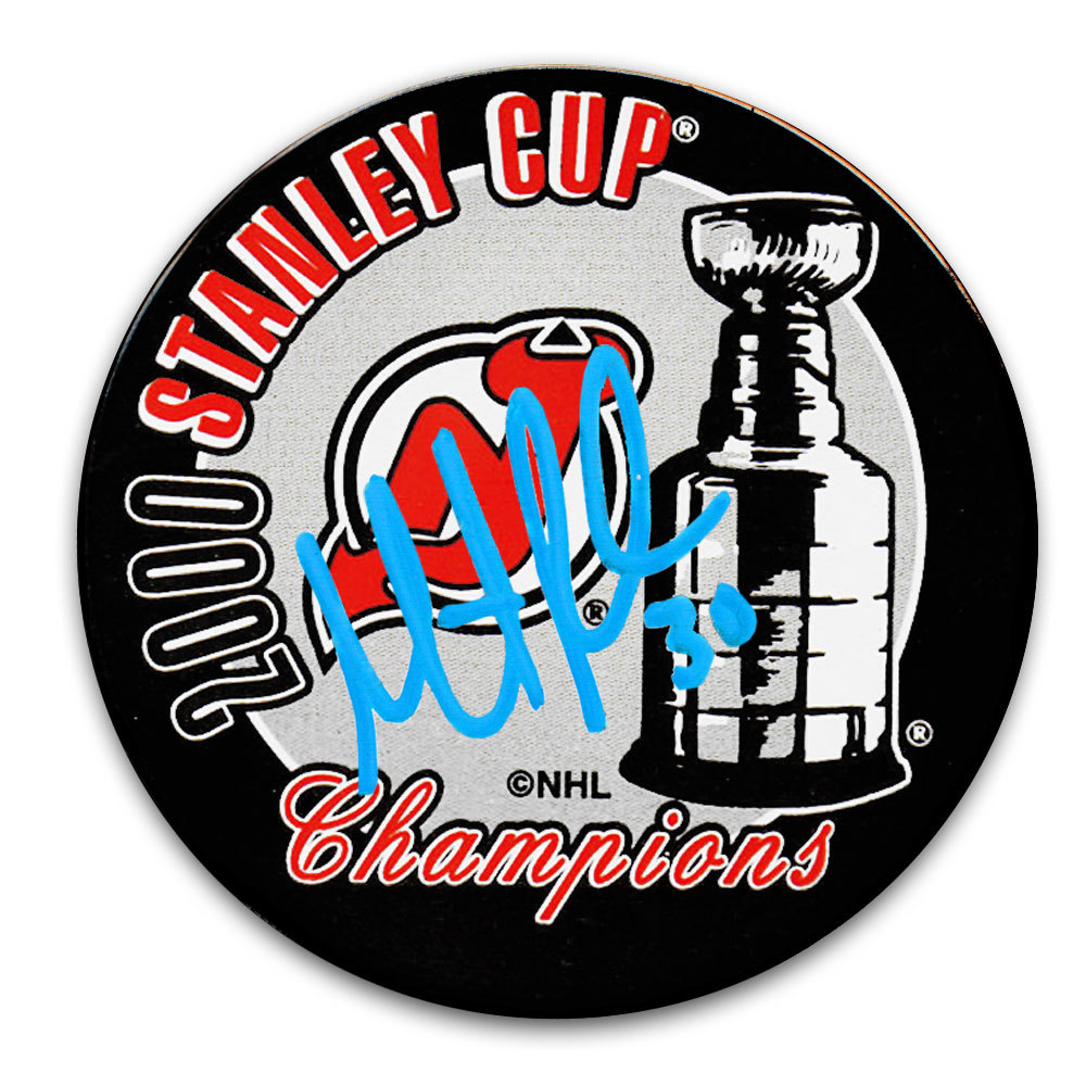 Martin Brodeur New Jersey Devils 2000 Stanley Cup Champions Autographed Puck