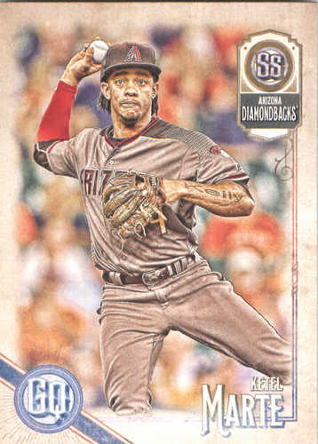Photo of 2018 Topps Gypsy Queen #67 Ketel Marte