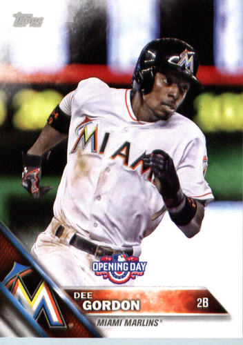 Photo of 2016 Topps Opening Day #OD129 Dee Gordon