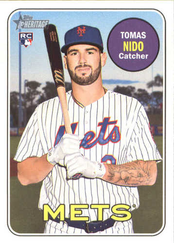 Photo of 2018 Topps Heritage #650 Tomas Nido RC