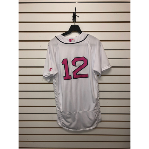 Photo of Brock Holt Team-Issued 2017 Mother's Day Home Jersey
