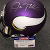 NFL - Vikings Adam Thielen signed Vikings proline helmet