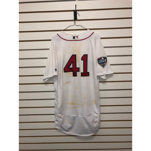 Chris Sale Game-Used October 23, 2018 World Series Game 1 Jersey